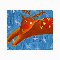 Rudolph The Reindeer Collage 12  X 18