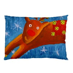 Rudolph The Reindeer Pillow Cases (Two Sides)