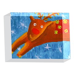 Rudolph The Reindeer 5 x 7  Acrylic Photo Blocks