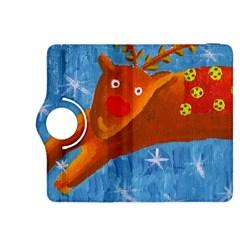 Rudolph The Reindeer Kindle Fire Hdx 8 9  Flip 360 Case