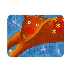 Rudolph The Reindeer Double Sided Flano Blanket (Mini)