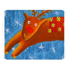 Rudolph The Reindeer Double Sided Flano Blanket (Large)