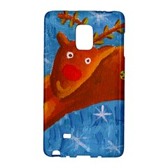 Rudolph The Reindeer Galaxy Note Edge