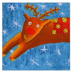 Rudolph The Reindeer Large Satin Scarf (Square)