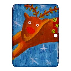 Rudolph The Reindeer Samsung Galaxy Tab 4 (10.1 ) Hardshell Case