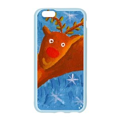 Rudolph The Reindeer Apple Seamless iPhone 6 Case (Color)
