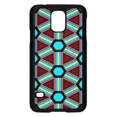 Stripes And Hexagon Pattern	samsung Galaxy S5 Case