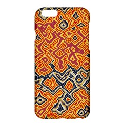 Red blue yellow chaosApple iPhone 6 Plus Hardshell Case