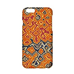 Red blue yellow chaos Apple iPhone 6 Hardshell Case