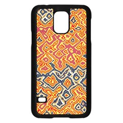 Red Blue Yellow Chaos	samsung Galaxy S5 Case