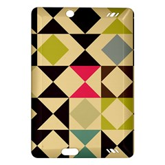 Rhombus And Triangles Pattern Kindle Fire Hd (2013) Hardshell Case