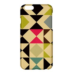 Rhombus And Triangles Pattern	apple Iphone 6 Plus Hardshell Case
