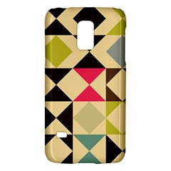 Rhombus and triangles patternSamsung Galaxy S5 Mini Hardshell Case