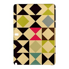 Rhombus And Triangles Pattern	samsung Galaxy Tab Pro 12 2 Hardshell Case