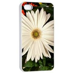 Flower Apple iPhone 4/4s Seamless Case (White)