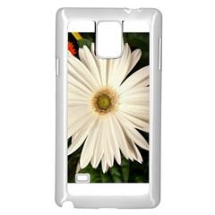 Flower Samsung Galaxy Note 4 Case (White)