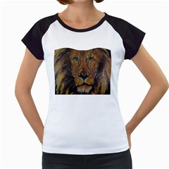 Cecil The African Lion Women s Cap Sleeve T