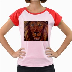 Cecil The African Lion Women s Cap Sleeve T-Shirt