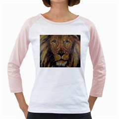 Cecil The African Lion Girly Raglans