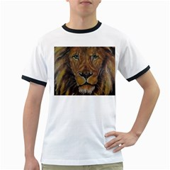 Cecil The African Lion Ringer T Shirts