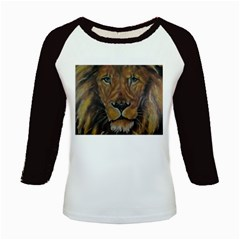 Cecil The African Lion Kids Baseball Jerseys