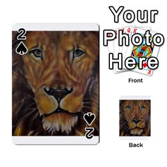 Cecil The African Lion Playing Cards 54 Designs