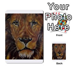 Cecil The African Lion Multi-purpose Cards (Rectangle)