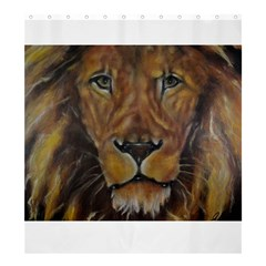 Cecil The African Lion Shower Curtain 66  x 72  (Large)
