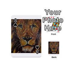 Cecil The African Lion Playing Cards 54 (Mini)