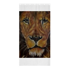 Cecil The African Lion Shower Curtain 36  X 72  (stall)