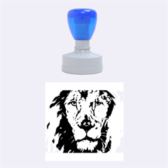 Cecil The African Lion Rubber Round Stamps (Medium)