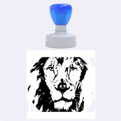 Cecil The African Lion Rubber Round Stamps (Large)