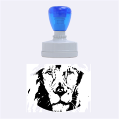 Cecil The African Lion Rubber Oval Stamps
