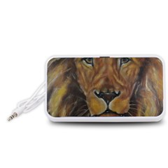Cecil The African Lion Portable Speaker (white)
