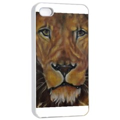 Cecil The African Lion Apple iPhone 4/4s Seamless Case (White)