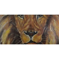 Cecil The African Lion You Are Invited 3d Greeting Card (8x4)