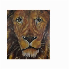 Cecil The African Lion Small Garden Flag (two Sides)