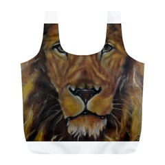 Cecil The African Lion Full Print Recycle Bags (l)