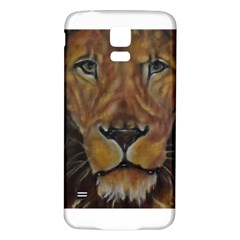 Cecil The African Lion Samsung Galaxy S5 Back Case (White)