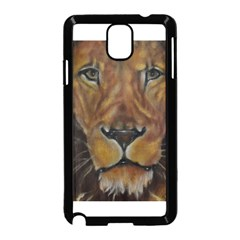 Cecil The African Lion Samsung Galaxy Note 3 Neo Hardshell Case (Black)