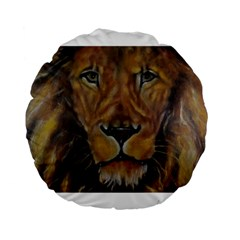 Cecil The African Lion Standard 15  Premium Flano Round Cushions
