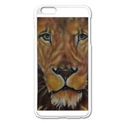 Cecil The African Lion Apple iPhone 6 Plus Enamel White Case