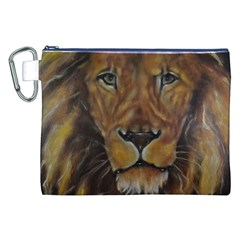 Cecil The African Lion Canvas Cosmetic Bag (XXL)