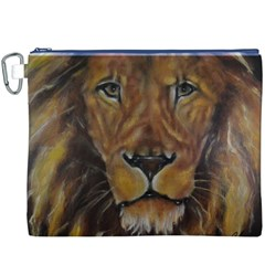 Cecil The African Lion Canvas Cosmetic Bag (XXXL)