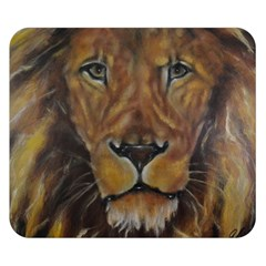 Cecil The African Lion Double Sided Flano Blanket (Small)