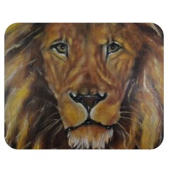 Cecil The African Lion Double Sided Flano Blanket (medium)