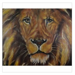Cecil The African Lion Large Satin Scarf (Square)
