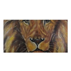Cecil The African Lion Satin Shawl