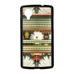 Pattern Flower  Nexus 5 Case (Black)