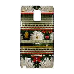 Pattern Flower  Samsung Galaxy Note 4 Hardshell Case